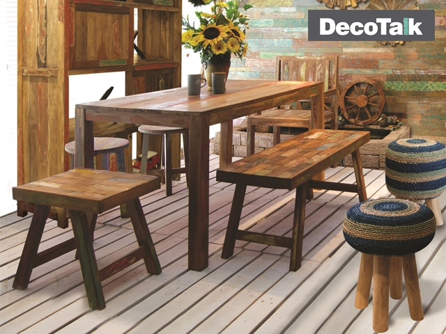 DecoTalk -Batik Dining Set