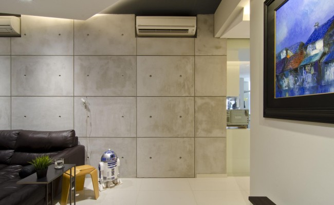 Despite the goal of creating a raw and masculine space, the modern apartment design could work for anyone (6)