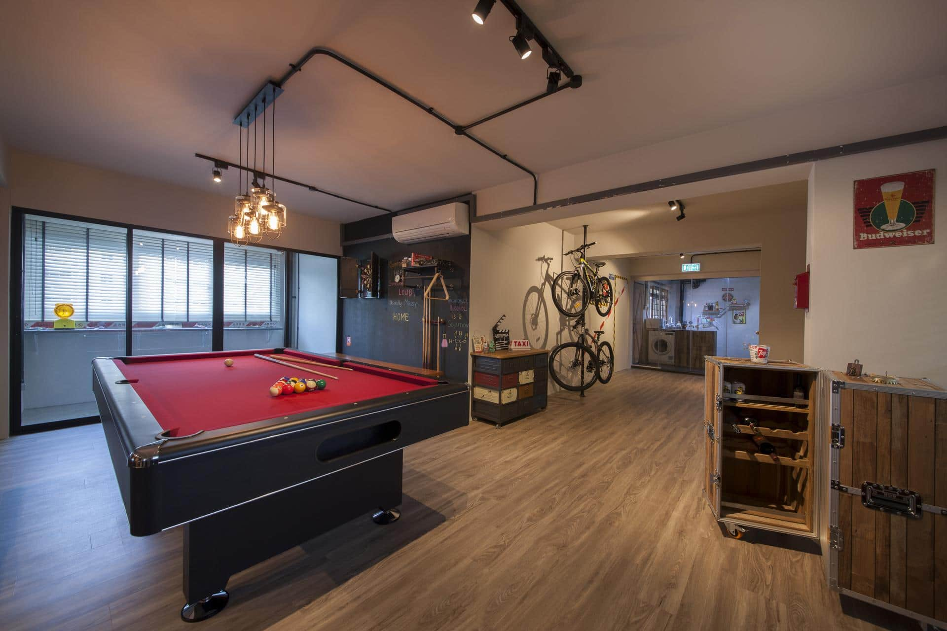 Industrial interior design 4 home renovation singapore for Interior design singapore