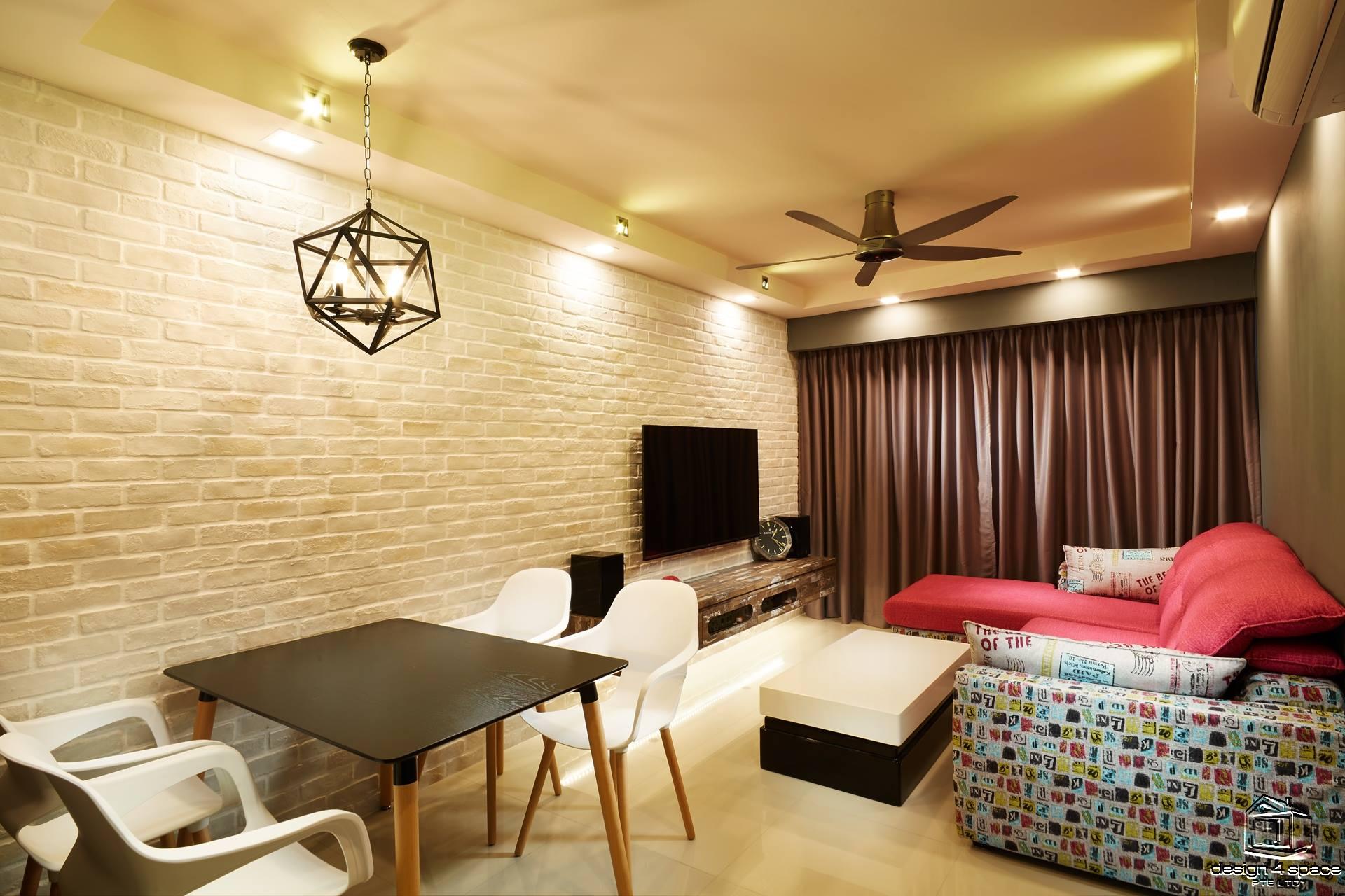 Scandinavian Interior Design 2 Home Renovation Singapore