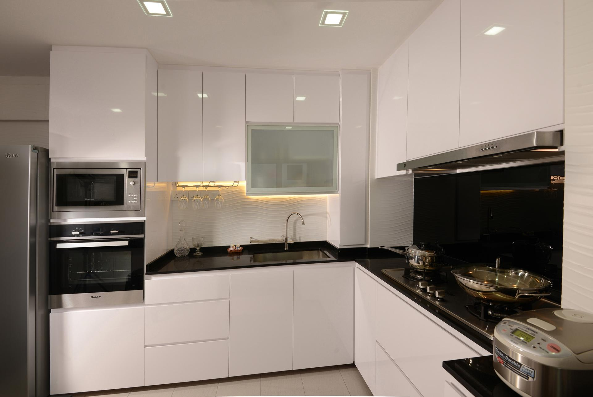 Kitchen Cabinets Materials Singapore