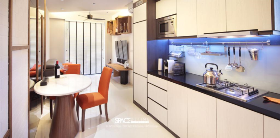 Captivating kitchen interior ideas and concept by Space Define