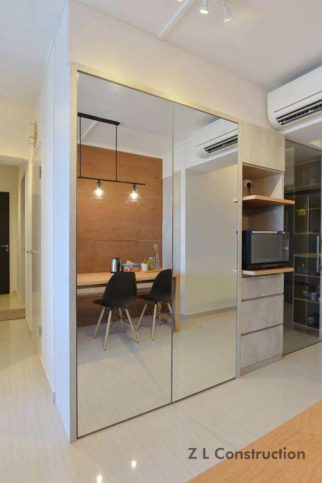 Modern space with minimalist furnishings for Minimalist house furnishings