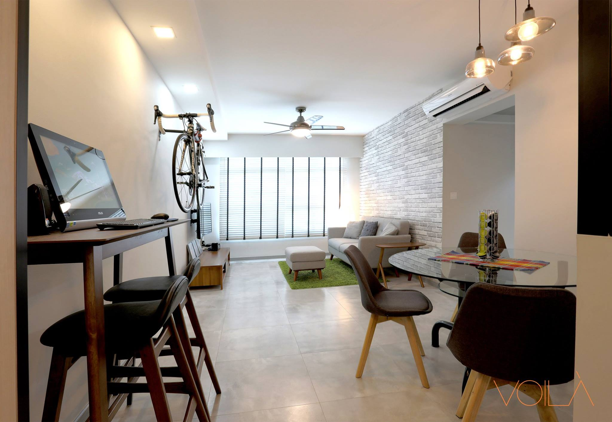 Scandinavian interior design 14 home renovation singapore for Scandinavian interior designs