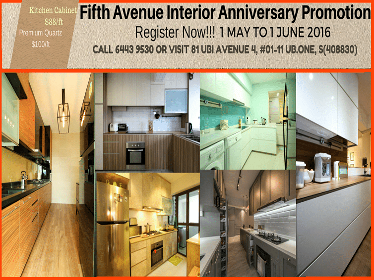 Fifth Avenue Interior Anniversary Promotion