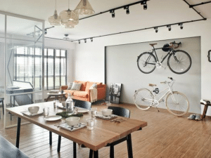 HANG BICYCLE ON WALLS LIKE A PIECE OF ART
