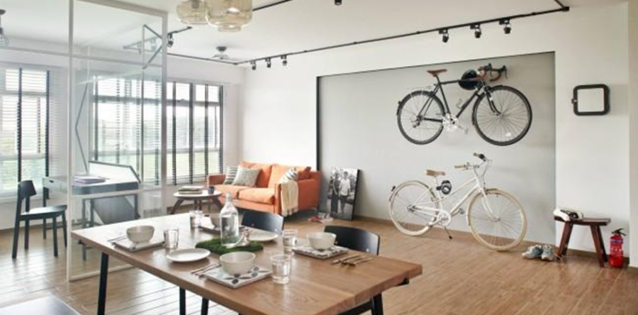 hang bicycle on walls like a piece of art rh renopedia sg cycling interior design bikes in interior design
