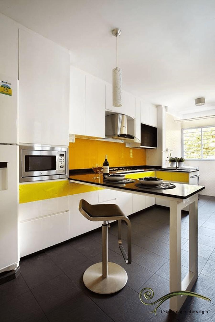 Kitchen Backsplash Home Renovation Singapore