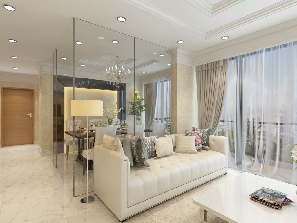 Case study latest project at riversails for Interior design singapore