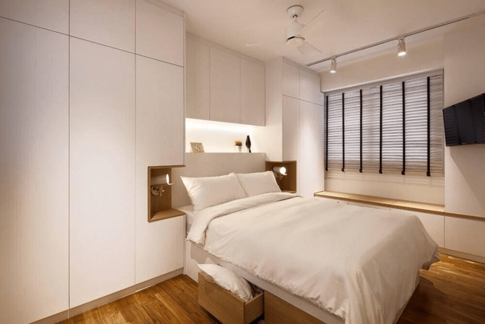 Scandinavian bedrooms for Posh bedroom designs