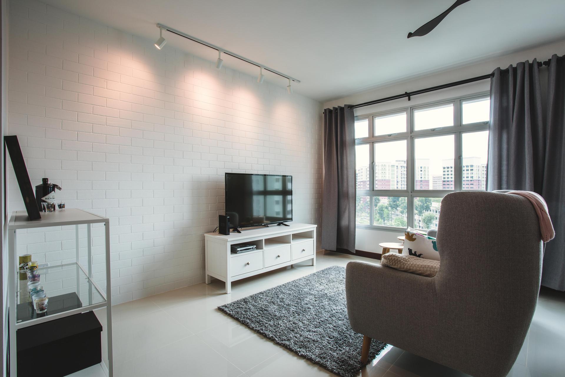 Scandinavian interior design that is sleek yet textured