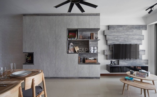 Scandinavian Interior Design That Embraced Its Grayscale With Gorgeous Wood Elements 13