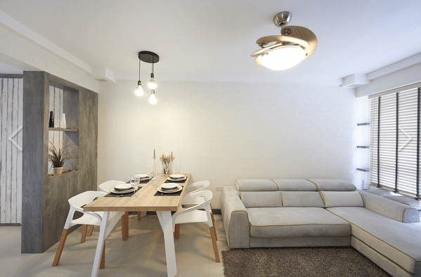 5 savvy ways to design a small dining room for Hdb minimalist interior design