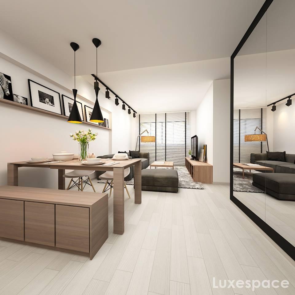 Fashion Design Interior Design Singapore: 5 SAVVY WAYS TO DESIGN A SMALL DINING ROOM