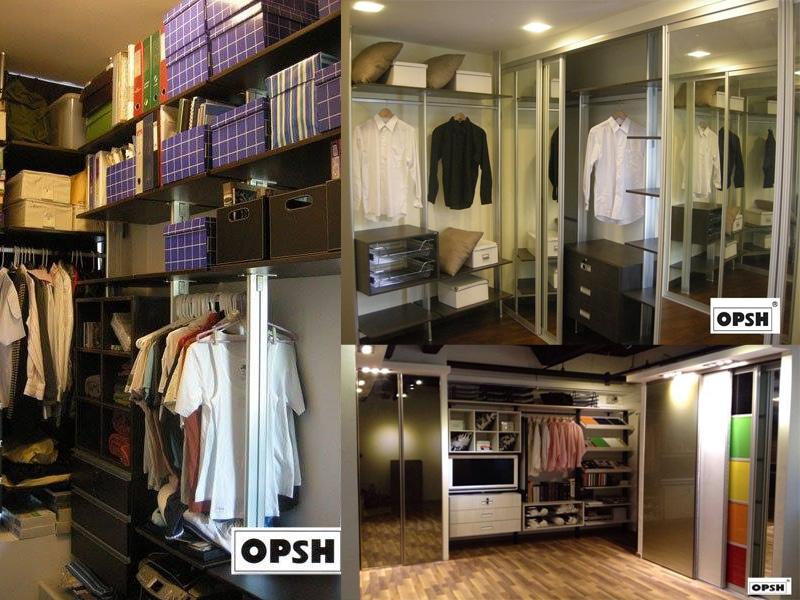 Walk in wardrobe (2)