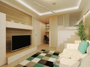 This home design comes with sweet and stylish feel