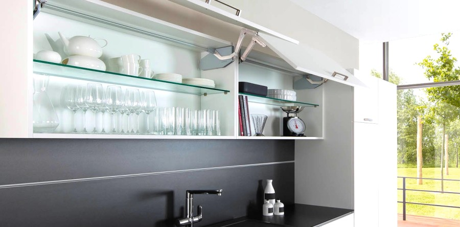 Make your Kitchen Cabinets Fly with Flap Fittings