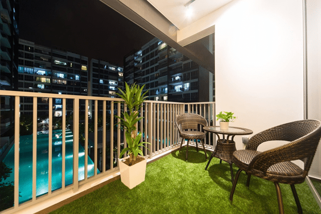 Stylish balcony designs for your summers for Balcony ideas singapore