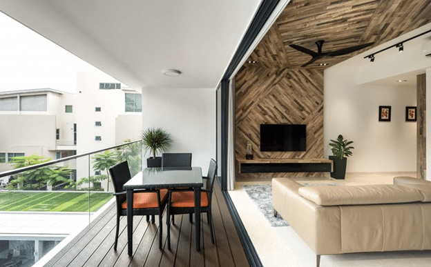 Stylish balcony designs for your summers for Room design with balcony
