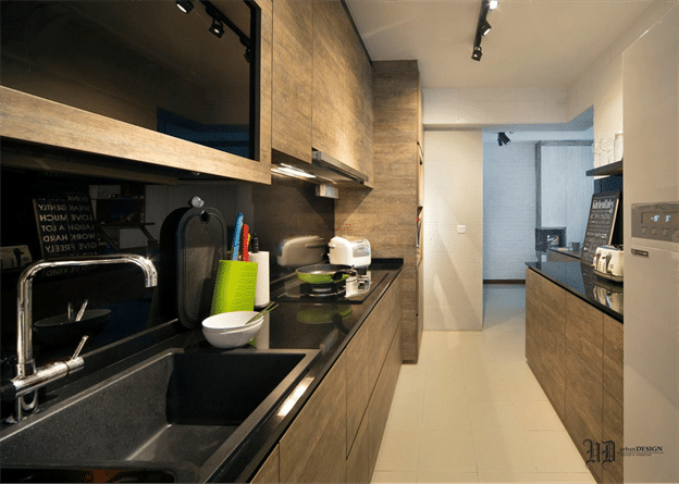 WOODEN LAMINATED KITCHEN CABINETS WAY TO ADD NATURAL MATERIAL - Different woods for kitchen cabinets