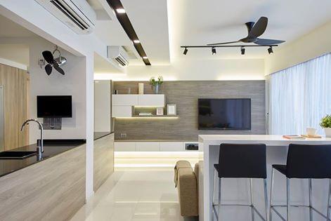 Modern interior design that take full advantage of the unique possibilities
