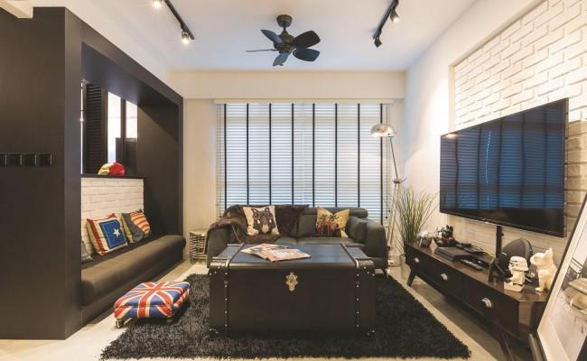 Modern Scandinavian apartment (2)