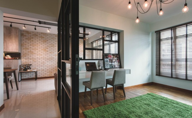 Scandustrial home with eclecticism! (5)
