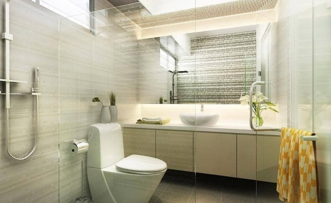 5 sparkling bathrooms for unmatched utility and comfort for Bathroom designs singapore