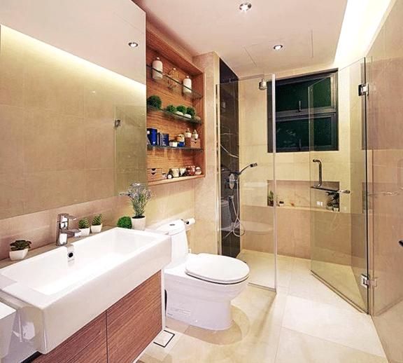 Natural White Bathroom Ideas