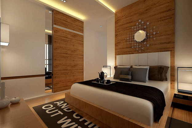 5 Modern Minimal Bedrooms