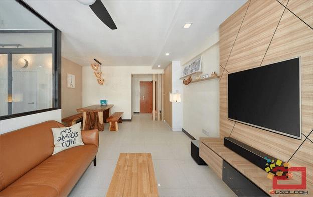 Scandinavian Apartment Embraces Natural Elements