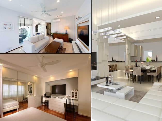 single tone Interior designs (1)