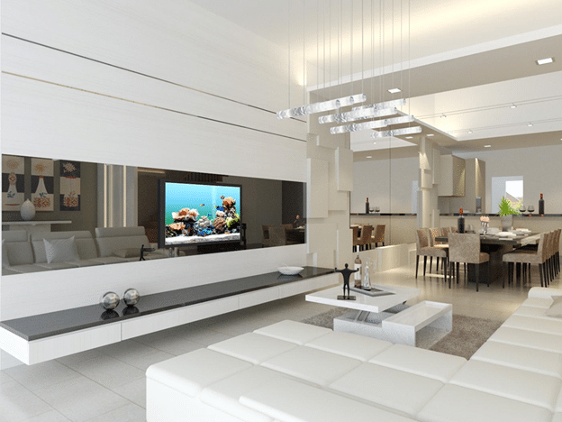 Unblemished beauty of single tone Interior designs