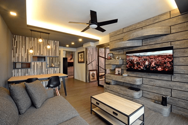 5 WAYS TO ADD WALL-MOUNTED TV'S AND SHELVES