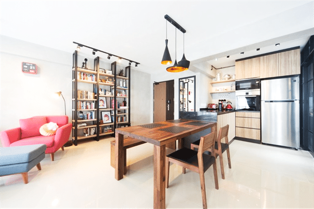 Create Space With Small Dining Interior (1)