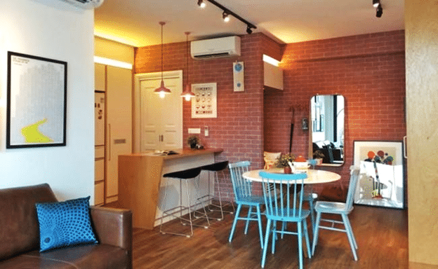 Create Space With Small Dining Interior (2)