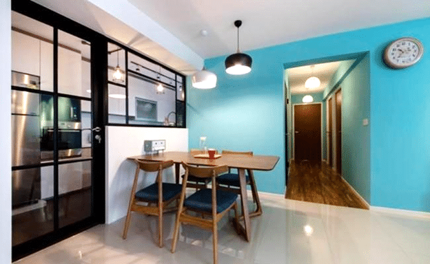 Create Space With Small Dining Interior (3)