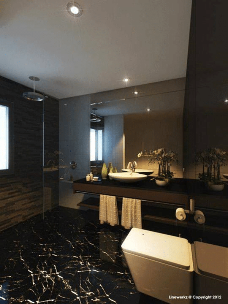 EXTRAVAGANCE AND INVITING BATHROOM DESIGNS (3)
