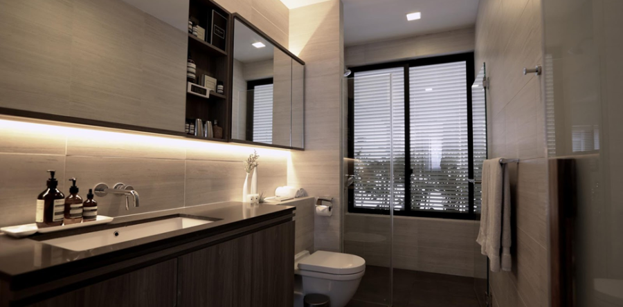 EXTRAVAGANCE AND INVITING BATHROOM DESIGNS