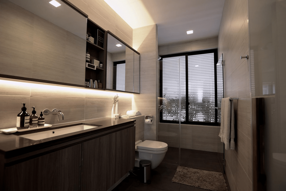 EXTRAVAGANCE AND INVITING BATHROOM DESIGNS (4)