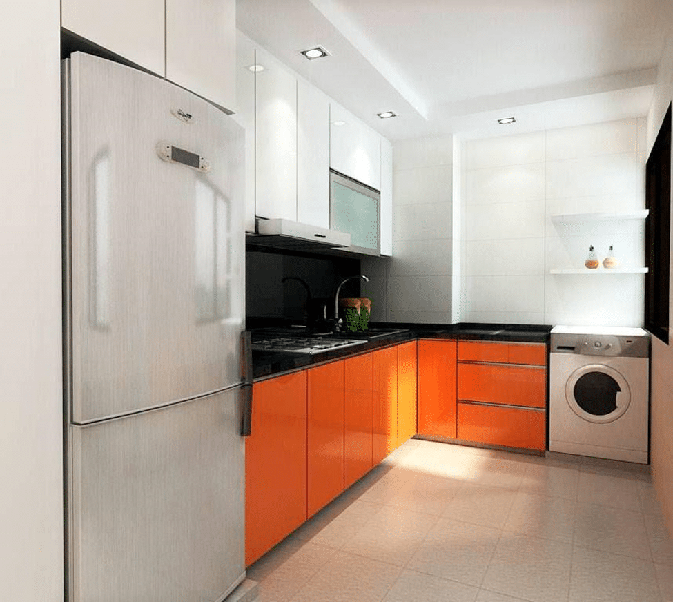 Beautiful Eyestriking Kitchen Renovation Design With 3 Room Hdb Kitchen  Renovation Design