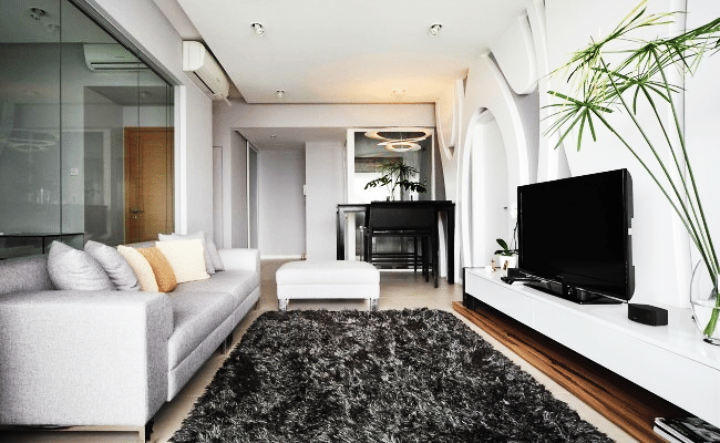 Eye-catching Rugs  in These Trendy Interiors (2)