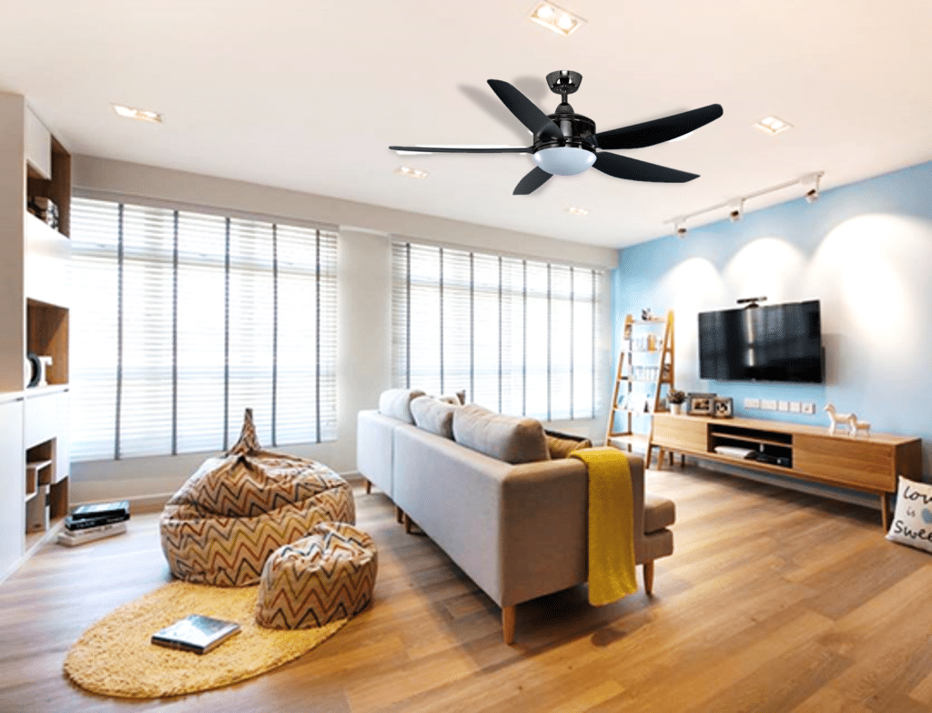 Fans that enhance the elegance of your interior (4)