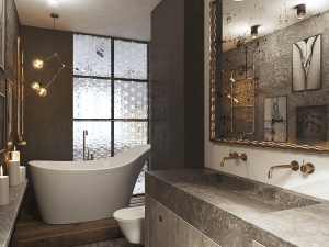 Personalized, Stylish and Hustle-free Bathrooms Elevate these Modern Homes