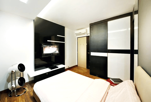 black n white bedroom (2)