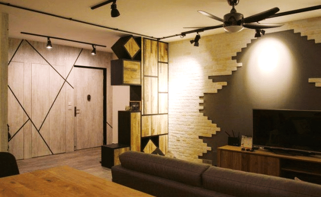 11 creative ideas to make interior brick walls Works (1)