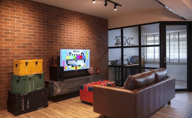 Emejing Interior Brick Wall Design Ideas Photos - Decorating ...