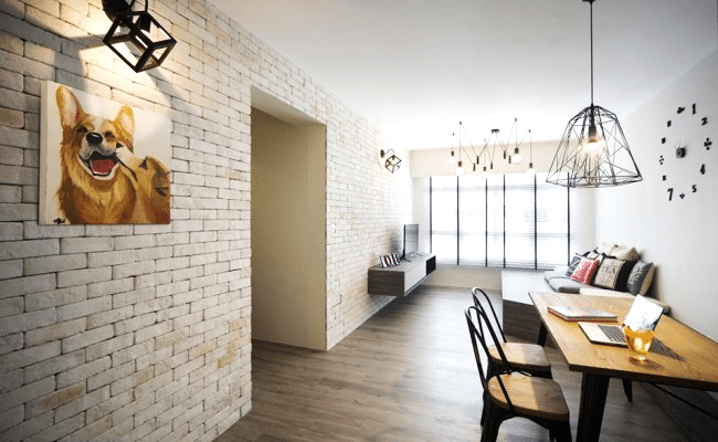 11 creative ideas to make interior brick walls Works (7)