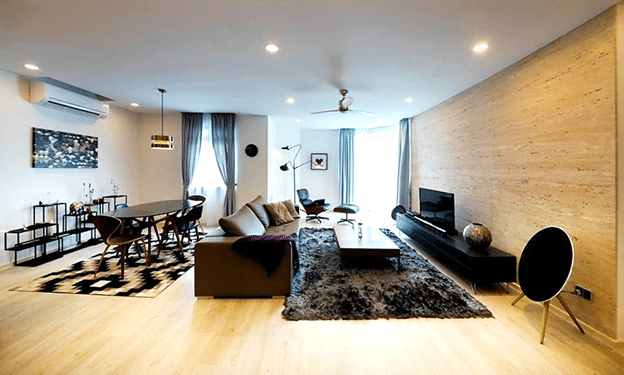 5 living rooms that reveal the modern stylish trends 2
