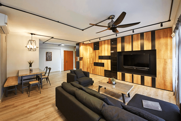 5 LIVING ROOMS THAT REVEAL THE MODERN STYLISH TRENDS (5)